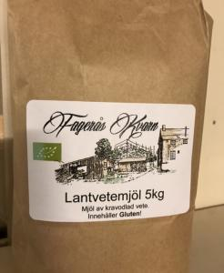 Ekologiskt siktat Lantvetemjöl 2 kg - Fagerås kvarn