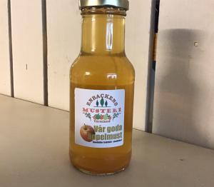Äppelmust 0,25 glasflaska - Enbackens musteri