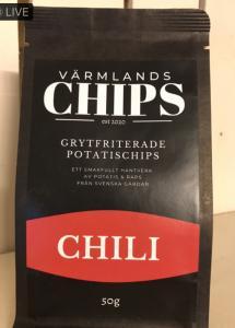 Värmlandschips Chili 50 g