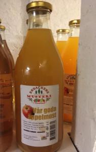 Äppelmust 1 L glasflaska - Enbackens musteri