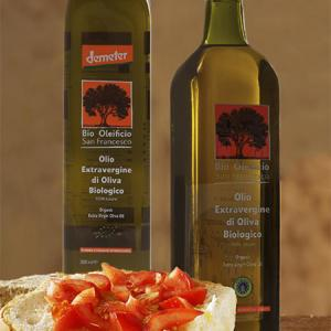 Eco World - Bio Oleificio San Francesco, EV Olive Oil, Demeter