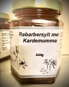 Rabarbersylt med kardemumma från Värmland  220 gr