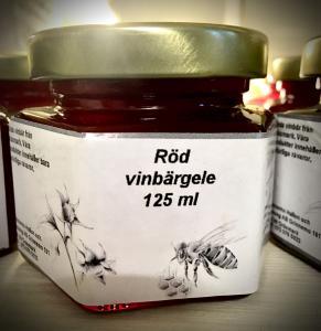 Röd Vinbärsgelé från Värmland 125 ml