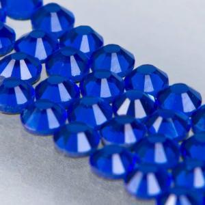 Hot-fix glittersten 4mm (sapphire)
