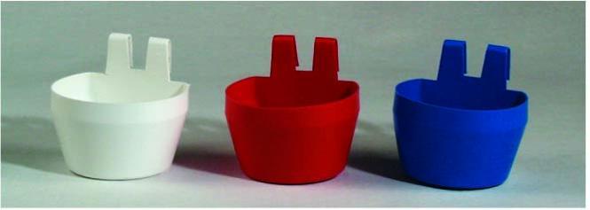Foder/vatten kopp 1 pack