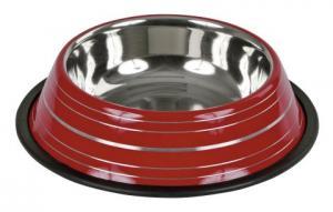 Hundmat skål Rostfri färgglada färger 900ml