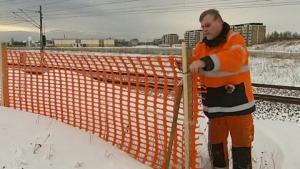 Snöstaket (extra kraftigt) 1,2m 50meter