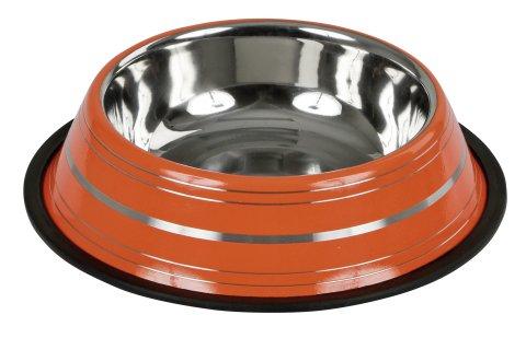 Hundmat skål Rostfri färgglada färger 450ml