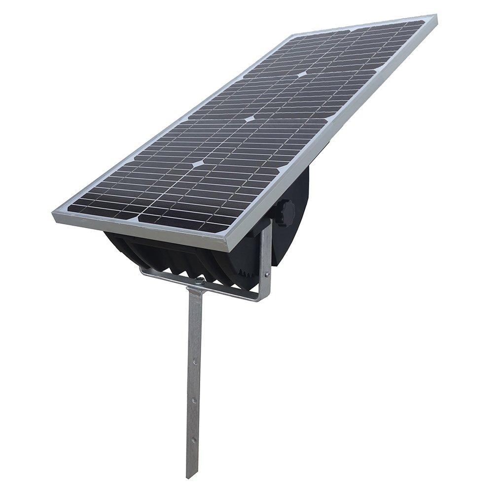 Elstängsel aggregat Solargizer med integrerad solpanel
