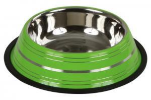 Hundmat skål Rostfri färgglada färger 200ml