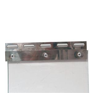 Upphängningsbeslag för plastridå 300mm