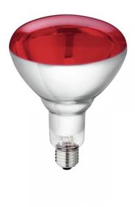 Infraröd lampa härdat glas Philips 250W
