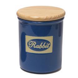 Burk i keramik med trälock *REA 50% *