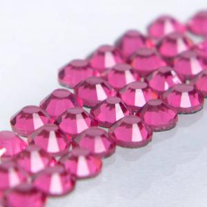 Hot-fix glittersten 4mm (Rose