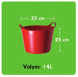 Tubtrug Small 14L Pistage
