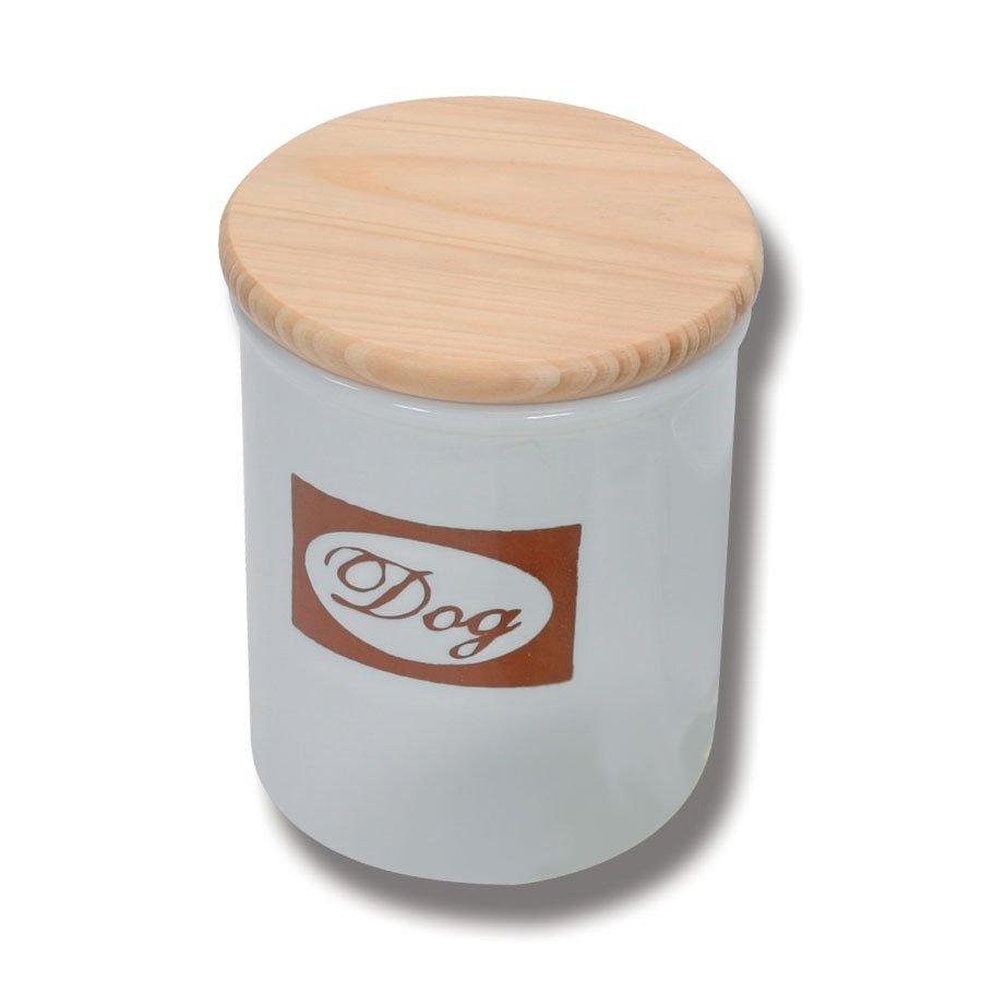 Burk i keramik med trälock *Rea 50%*