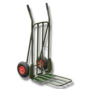 Säckkärra med luft hjul och lastplan