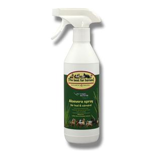 Hud & sårvårds spray aloevera 400ml