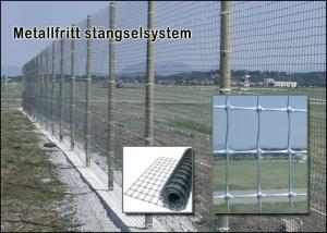 Metallfritt stängselsystem Höjd 2m (50m)