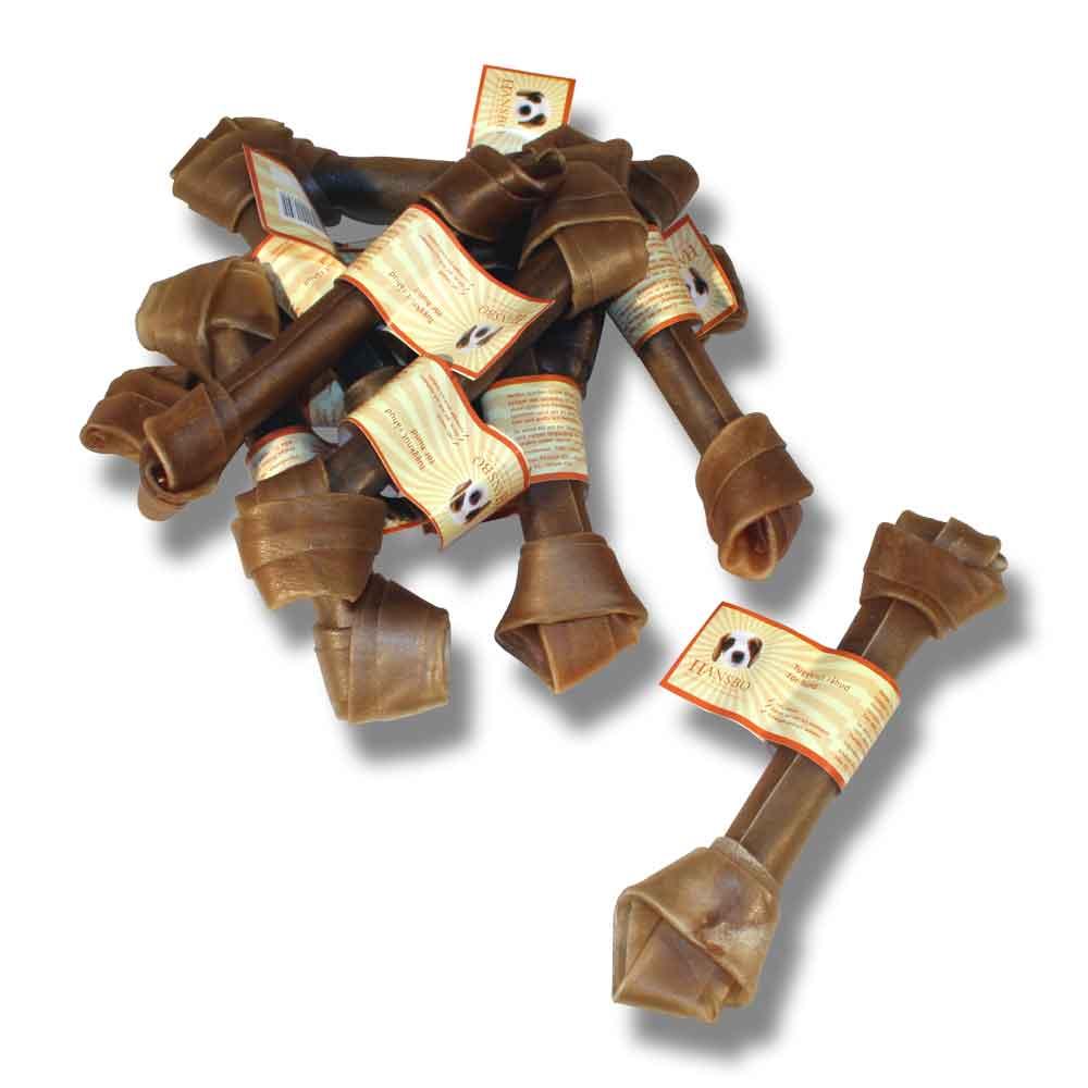 Tuggknut råhud 15cm 2-pack