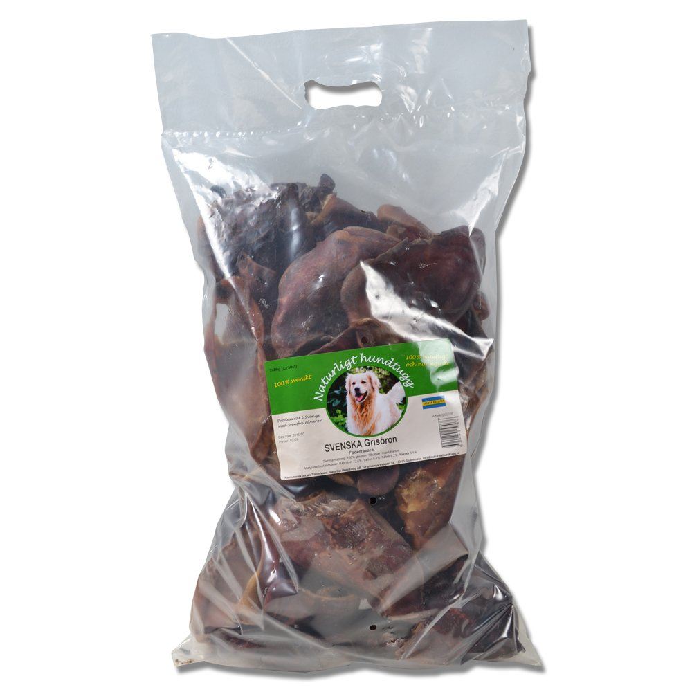 Grisöron SVENSKA naturligt hundtugg 5pack