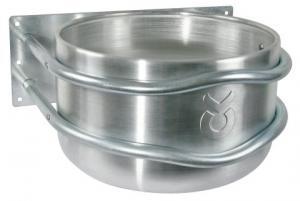Aluminium krubba rund