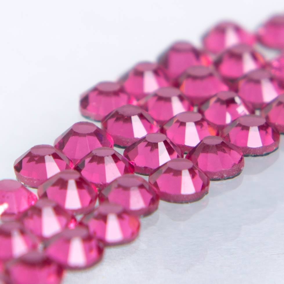 Hot-fix glittersten 3mm (Rose)