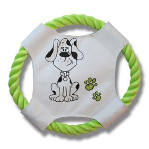 Hundleksak frisbee 17cm Ord.pris 25:-