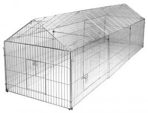 Förlängning utegård höns/kanin + 110cm