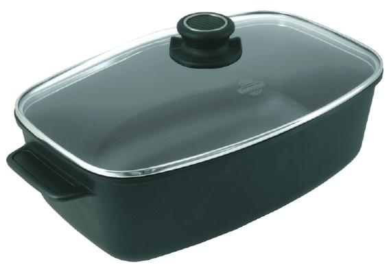 Stek och kokgryta oval 5,5 liter.