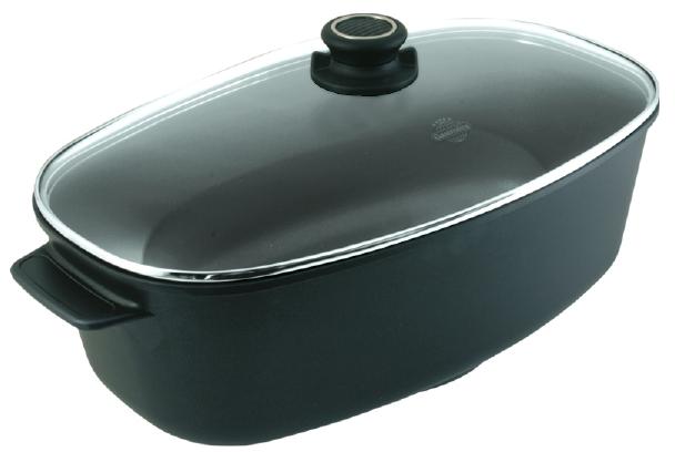 Stek och kokgryta oval 9 liter.