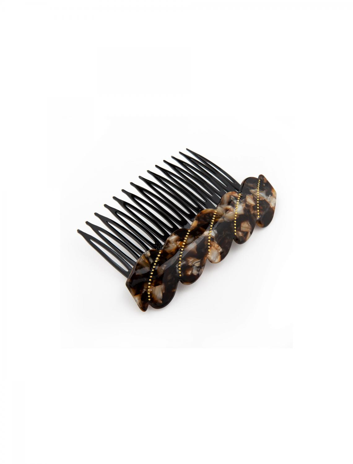 FRENCH COMB EMBELLISHED COCOA