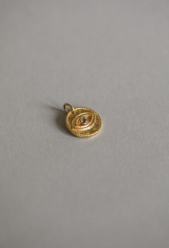 EYE PENDANT GOLD