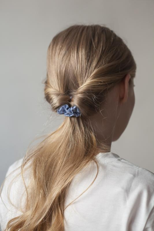 HAIR TIE SET HELSINKI ATELIER DENIM