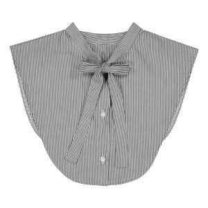 BOW COLLAR STRIPE