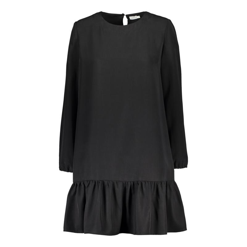 FRILL DRESS BLACK M