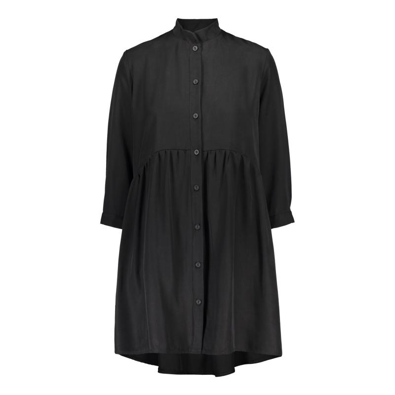 SHIRT DRESS BLACK M/L