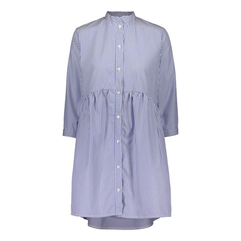 SHIRT DRESS BLUE/WHITE XS/S