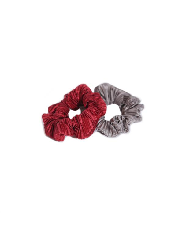 SCRUNCHIE SET RASPBERRY