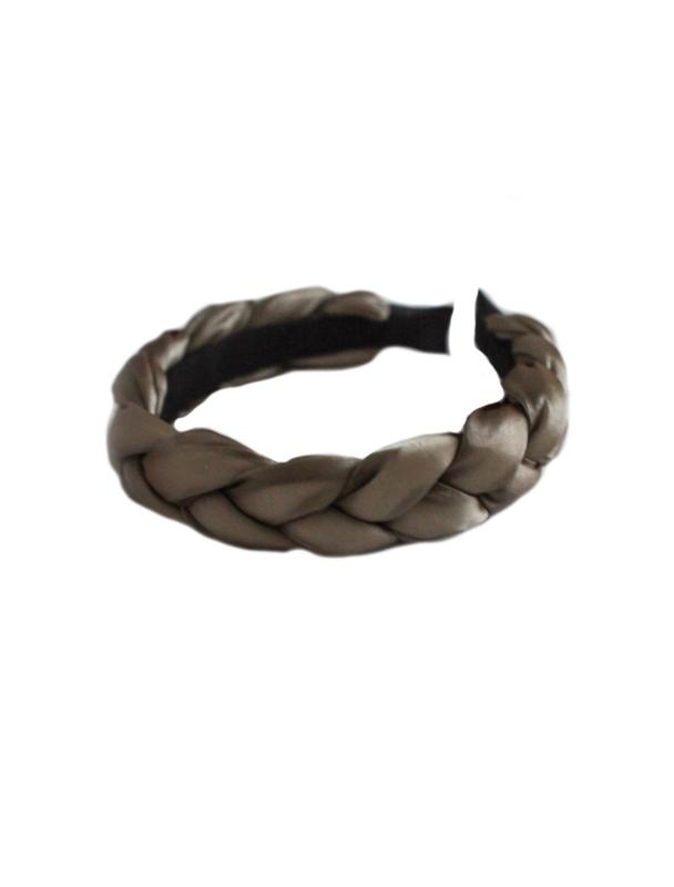 HEADBAND BRAIDED ORGANZA OLIVE