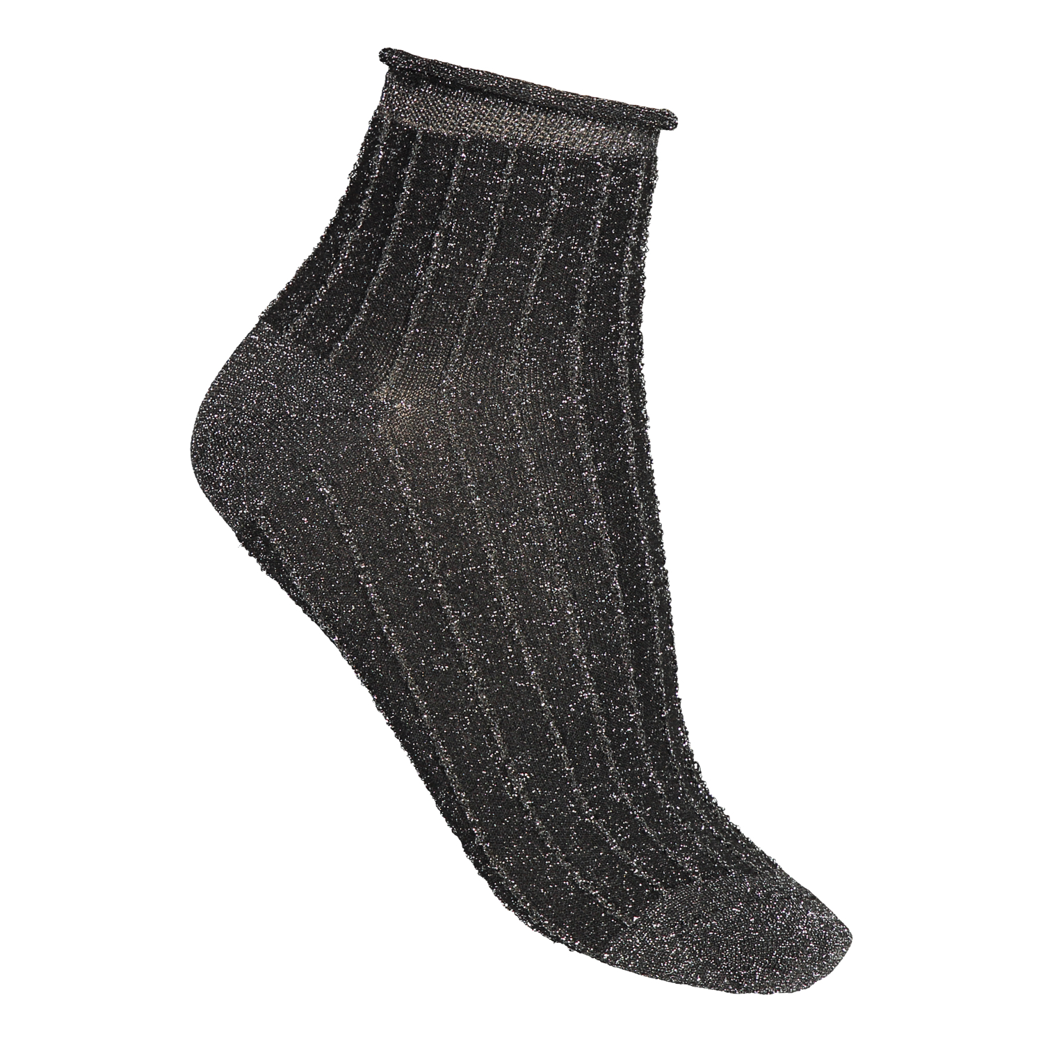 TWO PACK SOCKS SPARKLE ANTRACITE