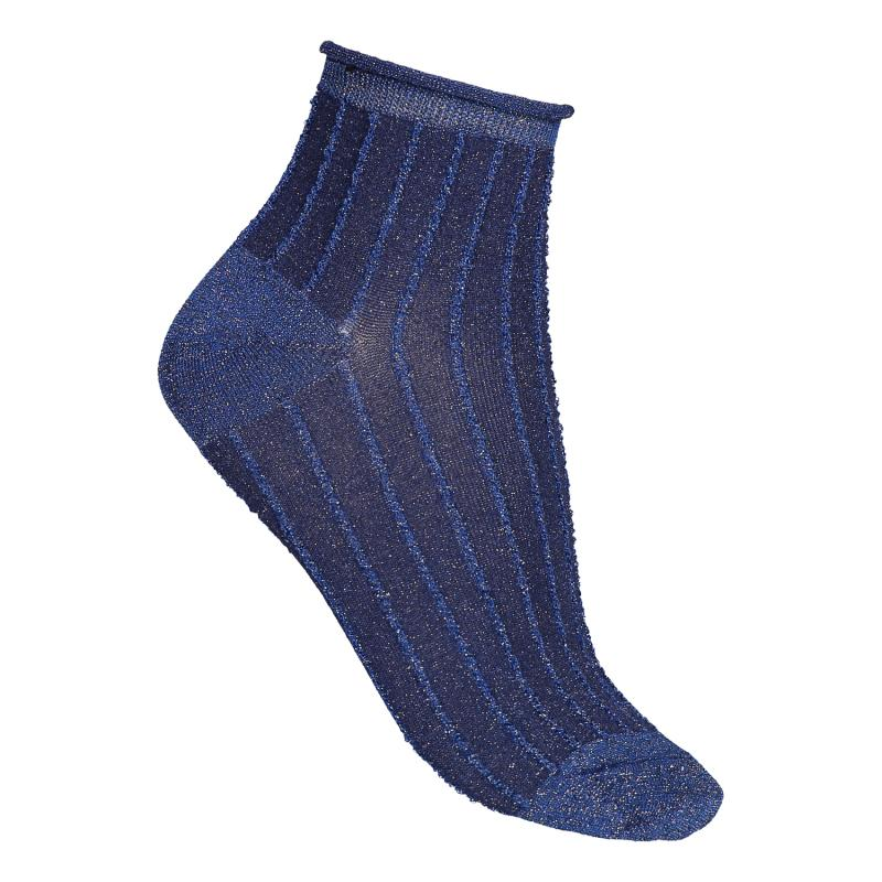 TWO PACK SOCKS SPARKLE BLUE