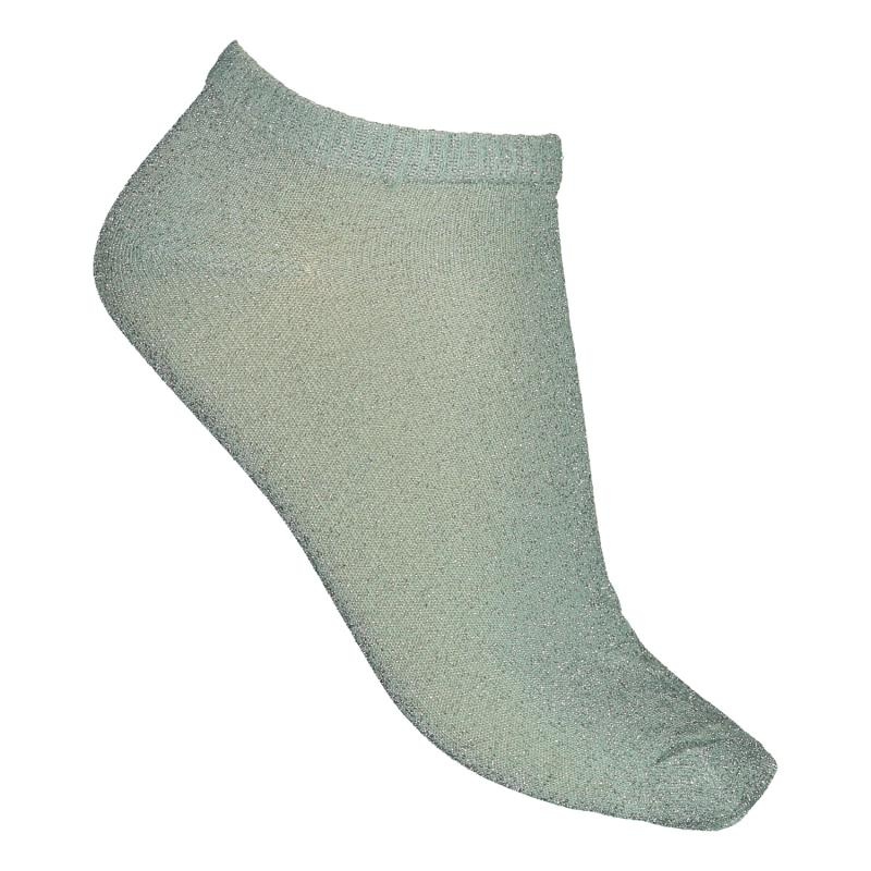 TWO PACK SOCKS GLITTER MINT