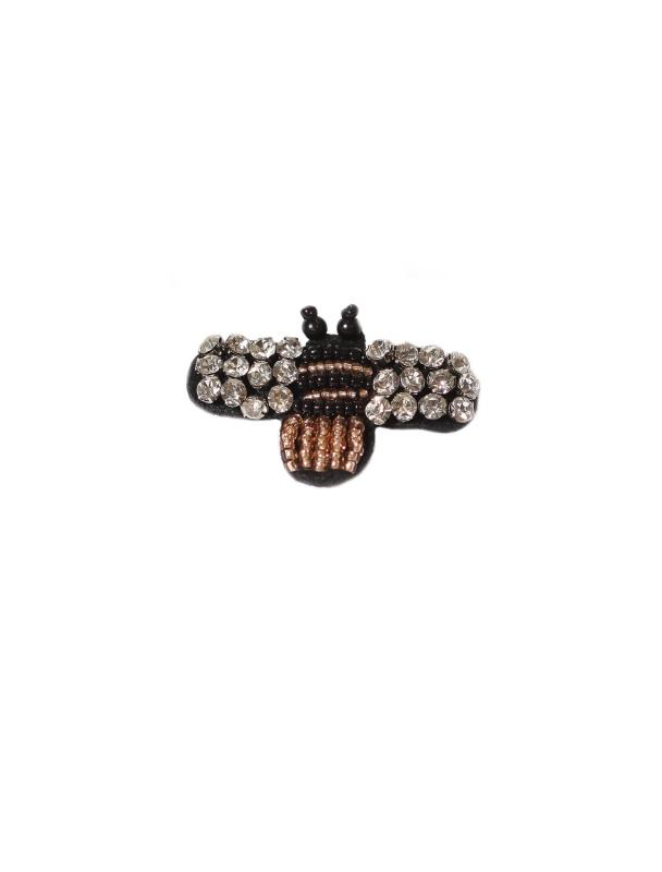 BROOCH BEADED BEE