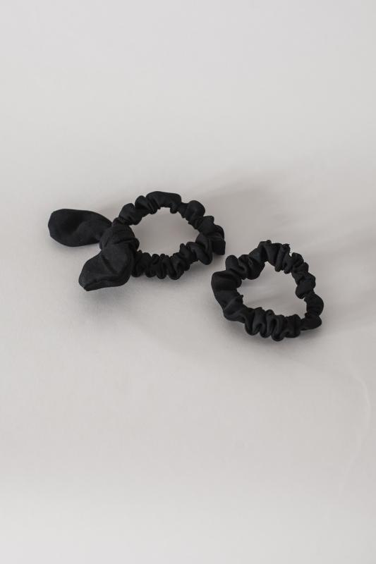 SCRUNCHIE SET HELSINKI ATELIER BLACK