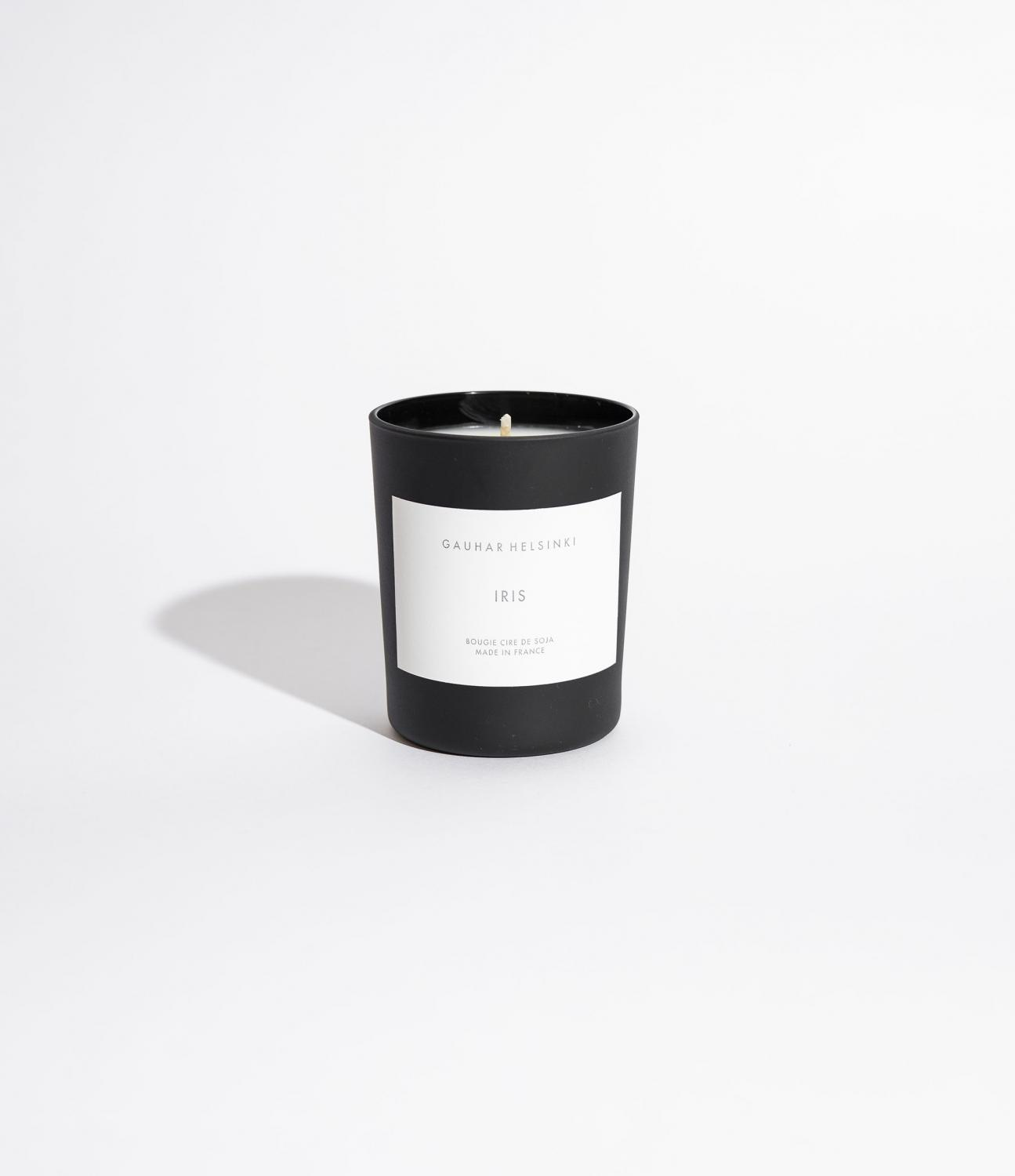 SCENTED SOY CANDLE IRIS