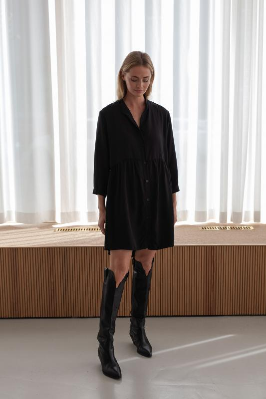 SHIRT DRESS BLACK XL/XXL
