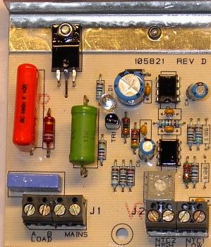 Kretskort för temperaturstyrning till SDX Thermobox