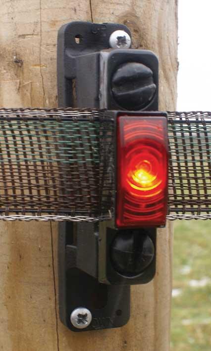 Testlampa för Polarband