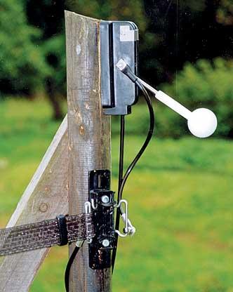Golfboll - strömbrytare